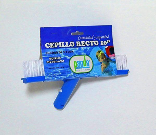 """Cepillo Recto 10"""" Panda - Accesorios Para Albercas"""