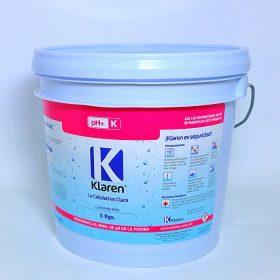 Klaren pH+ Químico - Alcalinidad Para Albercas 5Kg